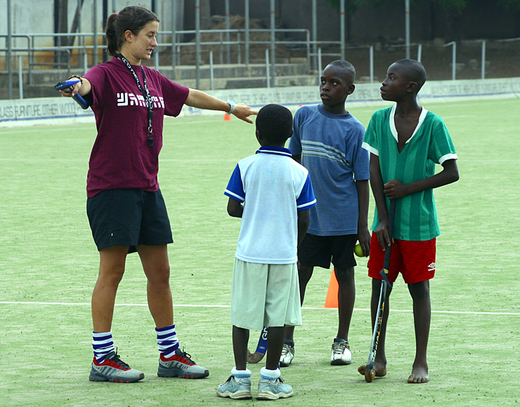 Coach Hockey in Ghana