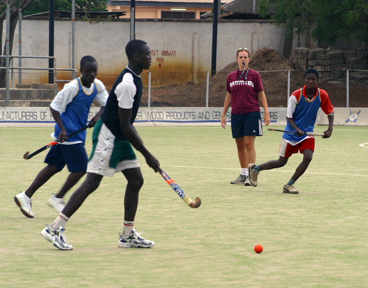 Hockey Project in Ghana