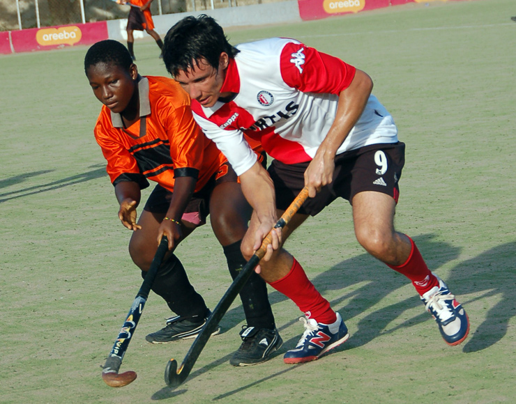 Play Hockey in Ghana