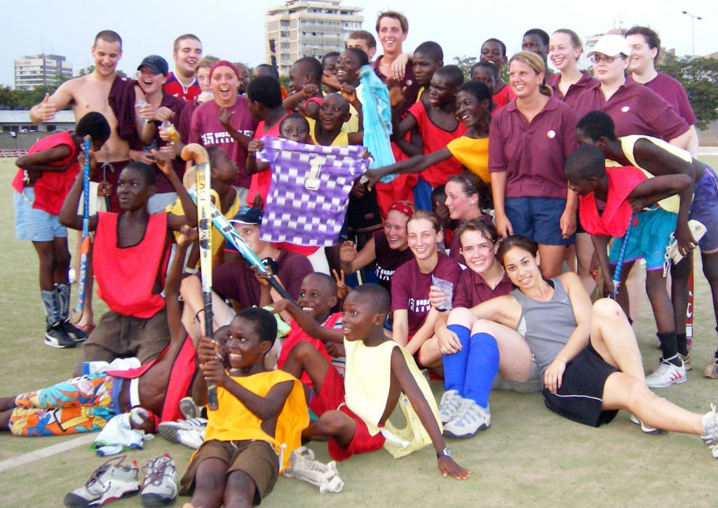 Hockey Coaching Project Ghana
