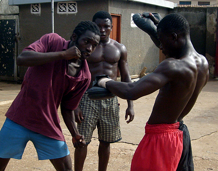 Martial Arts Training Experience in Ghana, Accra 2591