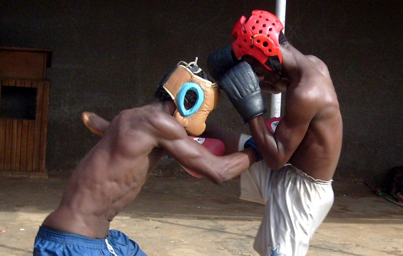 Martial Arts Training in Ghana