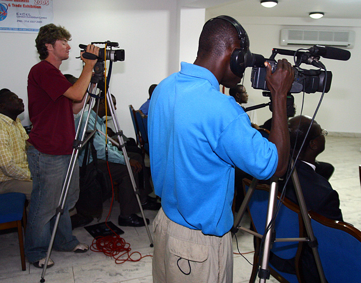 Film and Journalism Internship Ghana