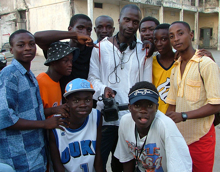 Sports Journalism Crew in Ghana