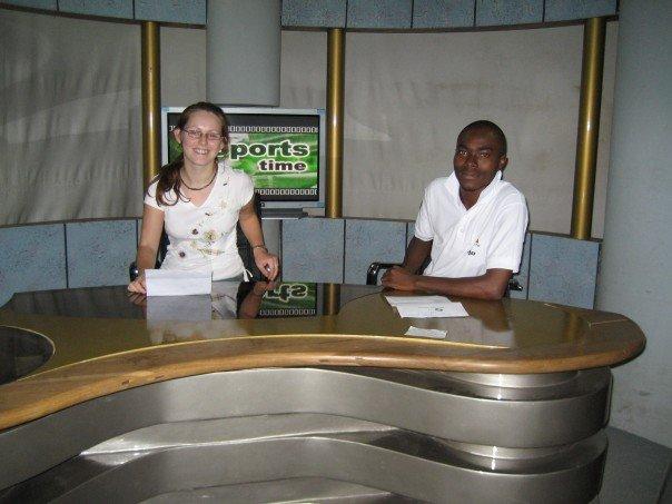 TV Presenting in Ghana