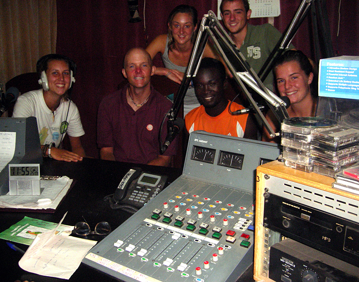 Sports Radio Internship Ghana
