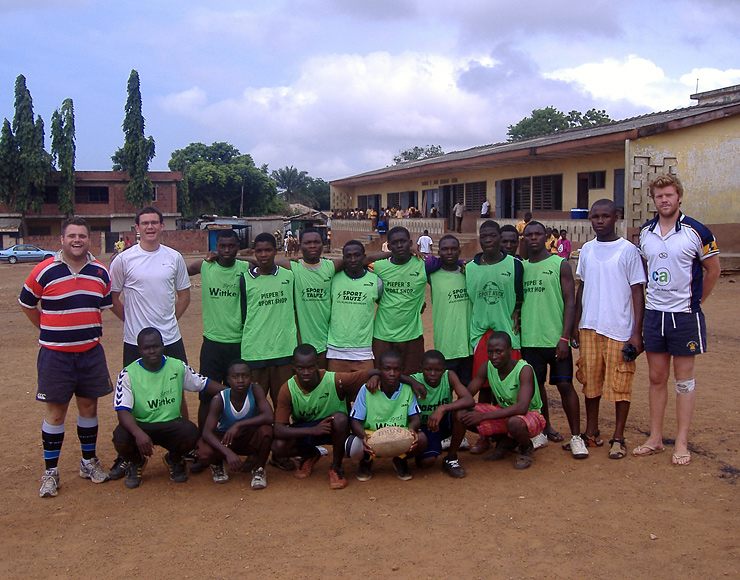Rugby Development in Ghana