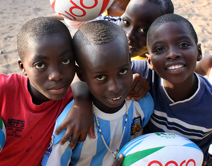 Rugby for Kids in Africa