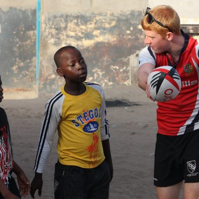 Rugby Coaching Volunteer Project in Ghana, Accra