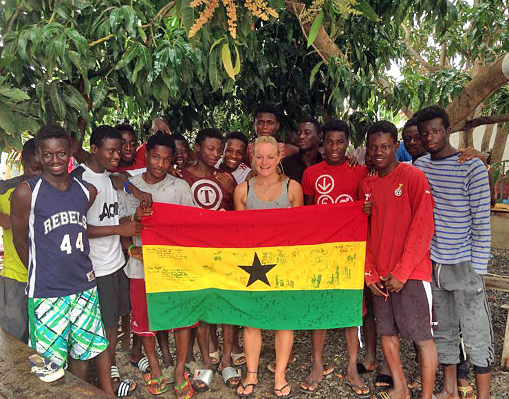 Sports Internship in Ghana
