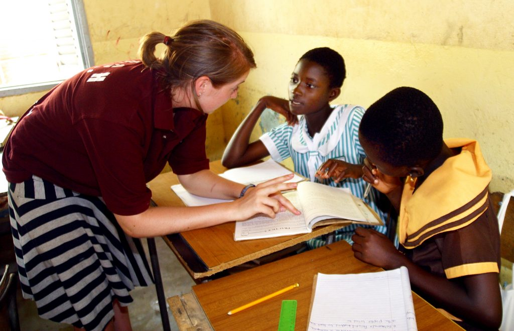 Teaching Kids English in Ghana