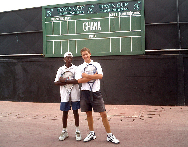 Gap Year Tennis Project Ghana
