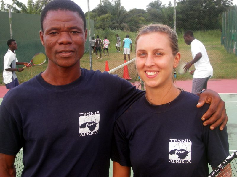 Tennis Coaching Project Ghana