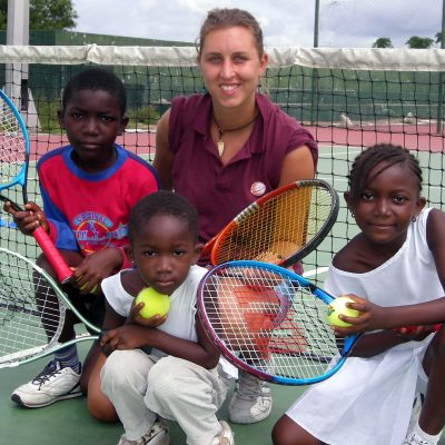 Tennis Coaching & Playing Project in Ghana, Accra
