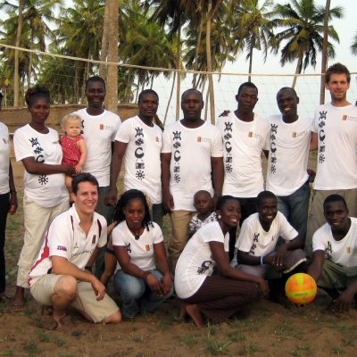 Volleyball Coaching Volunteer Project in Ghana, Accra