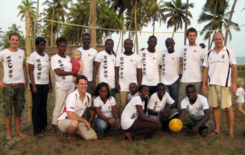 Volleyball Coaching Volunteer Project in Ghana, Accra 2585