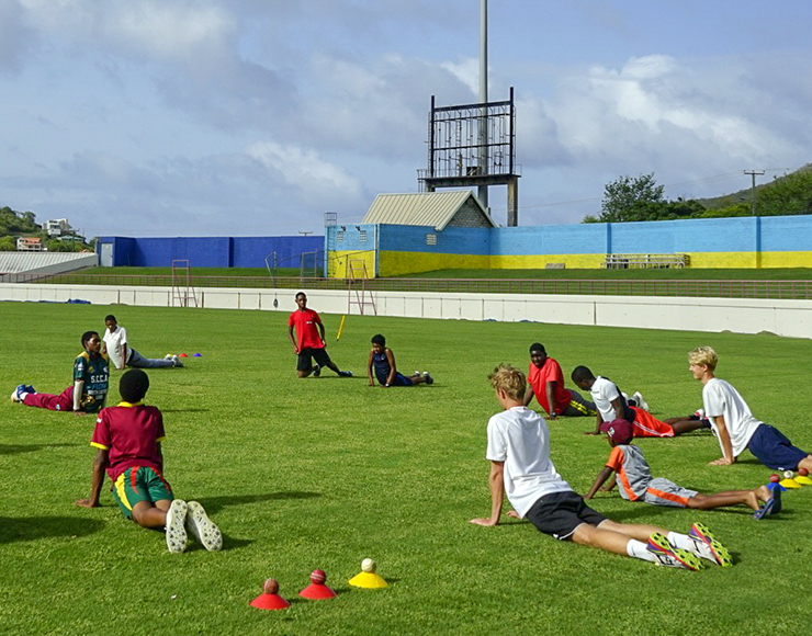 Cricket Training Camp St Lucia