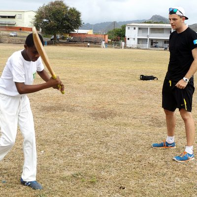 Cricket Coaching Volunteer Project in St Lucia, Castries