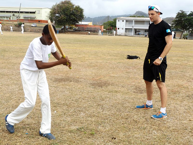 Cricket Coaching in The Caribbean