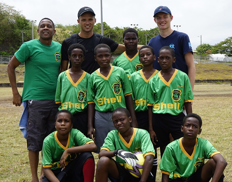 Football Coaching Project in St Lucia