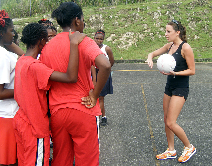 Coach Netball in The Caribbean