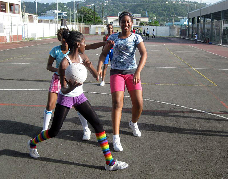 Netball Coaching Volunteer Project in St Lucia, Castries 2578