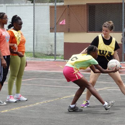 Netball Coaching Volunteer Project in St Lucia, Castries