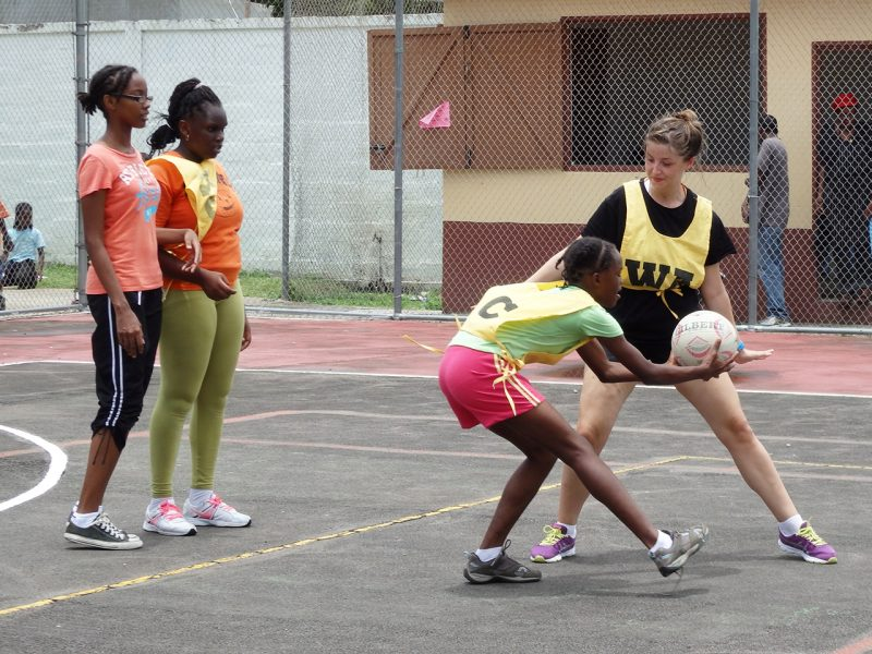 Netball Coaching Project St Lucia
