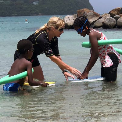 Swimming Teaching Volunteer Project in St Lucia, Castries