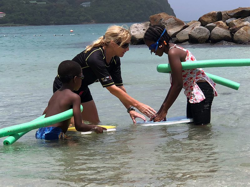 Swimming Teaching Volunteer Project in St Lucia, Castries 2572
