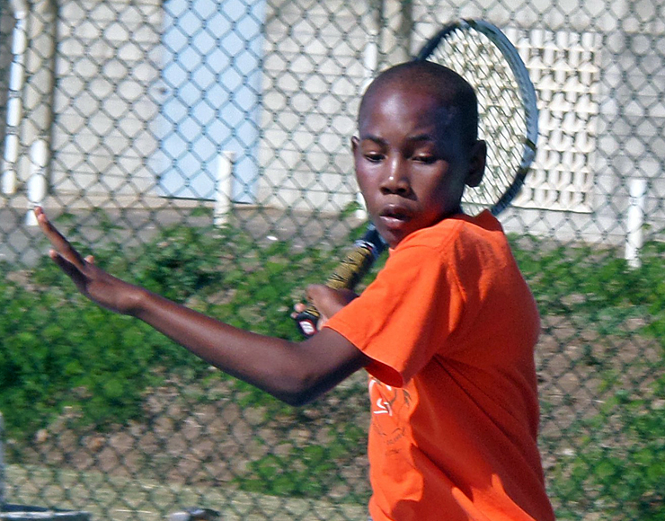 Tennis Coaching Volunteer Project in St Lucia, Castries 2573