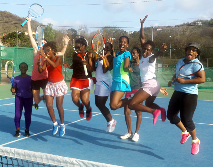 Tennis Coaching Project St Lucia