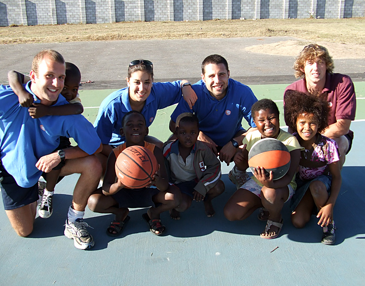 Basketball Coaching Project South Africa