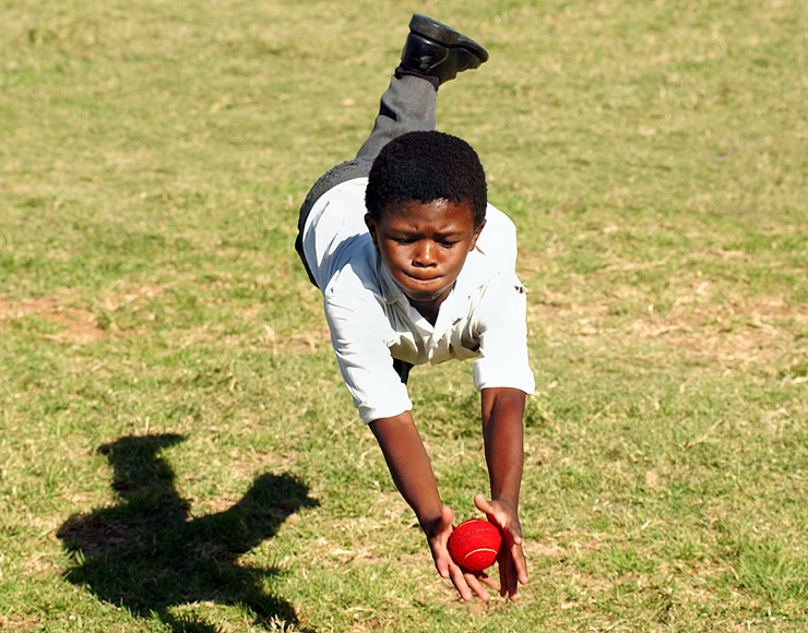 Young South African Cricketer