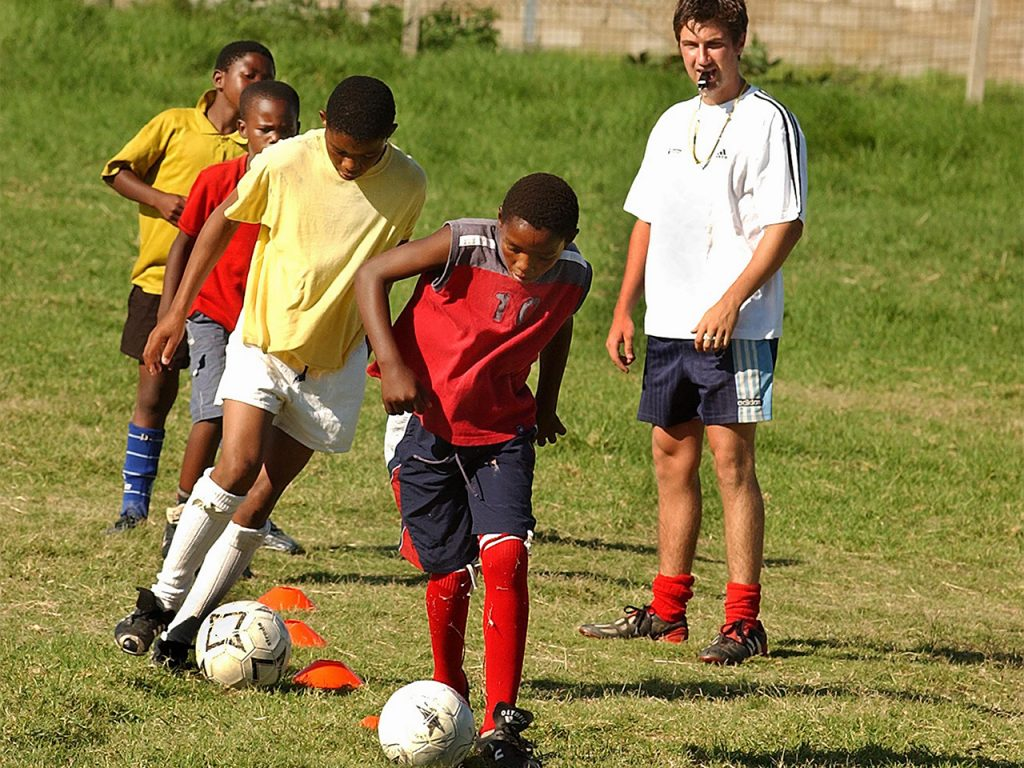 Football Coaching Project in South Africa