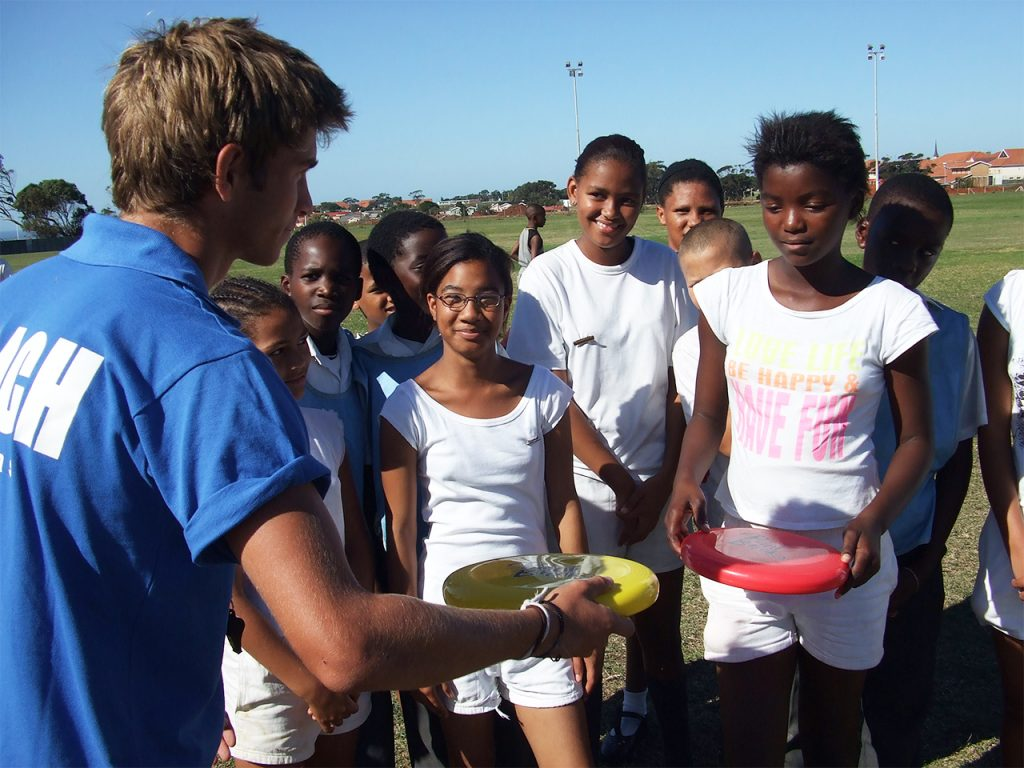 Ultimate Frisbee Coaching in South Africa