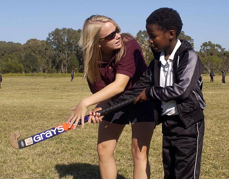 Teach Hockey in South Africa