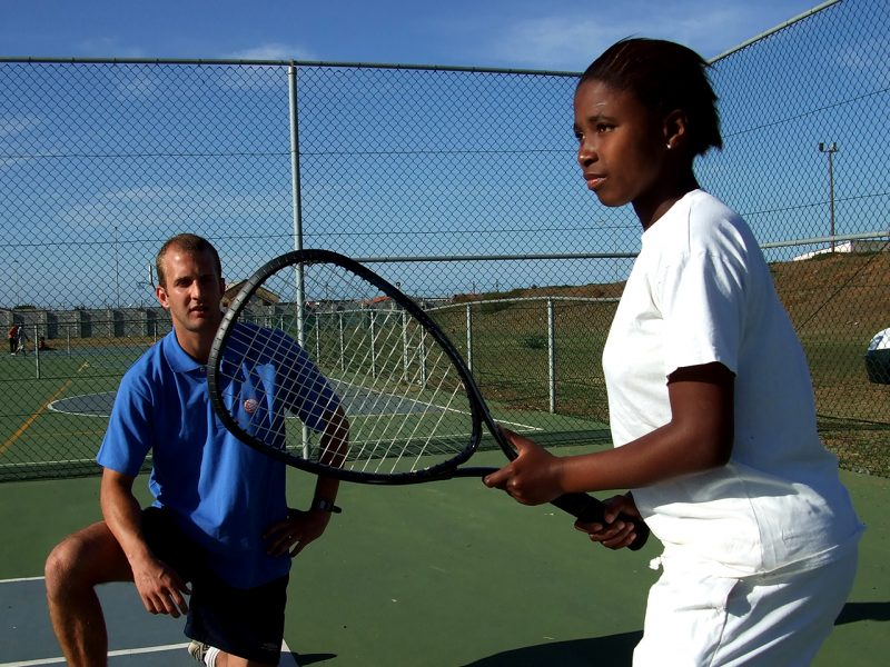 Tennis Coaching Project in South Africa