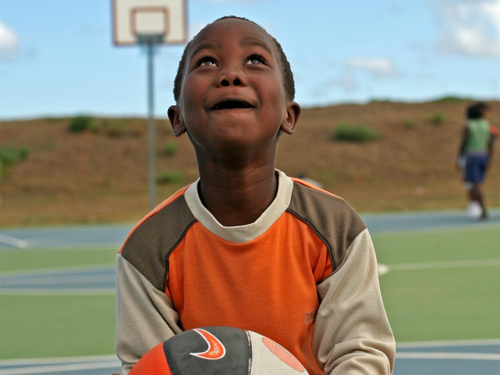 Coach Basketball to Kids in South Africa