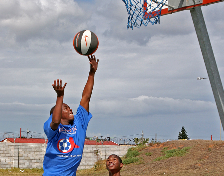 Play Basketball in South Africa