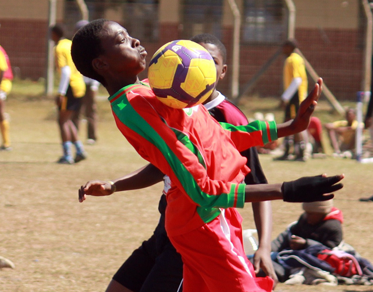 Play Football in South Africa