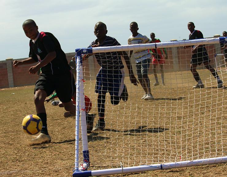 Kids Football Match South Africa