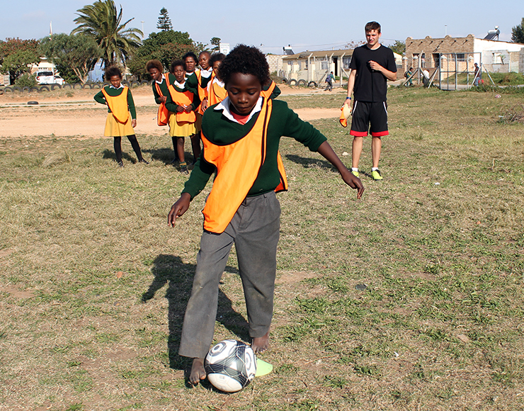 Girls Football Coaching Session South Africa