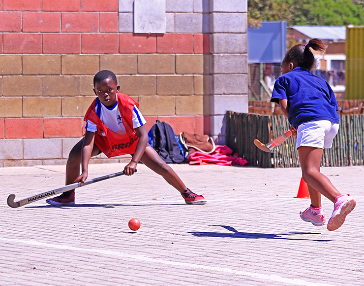 Hockey Coaching Project South Africa