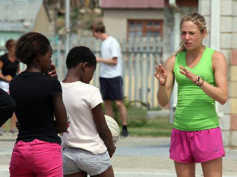 Netball Coaching Project South Africa