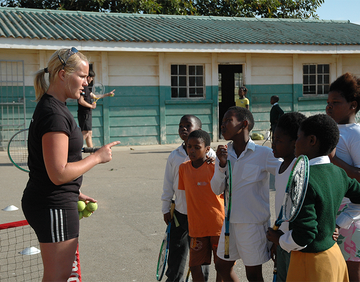 Teach Tennis to Kids in South Africa