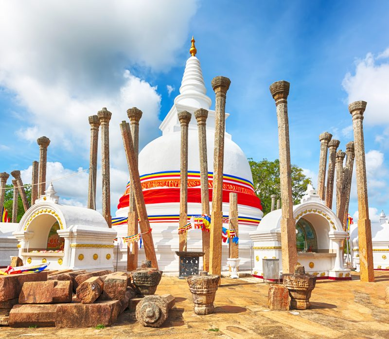 Sri Lanka - 1554 - Anuradhapura Thuparamaya