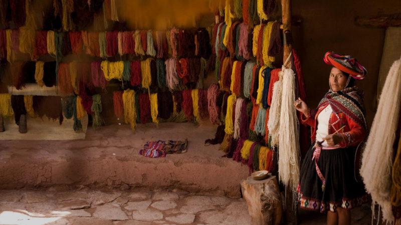 Peru - 1559 - Awanakancha Community - Local Textile Crafts