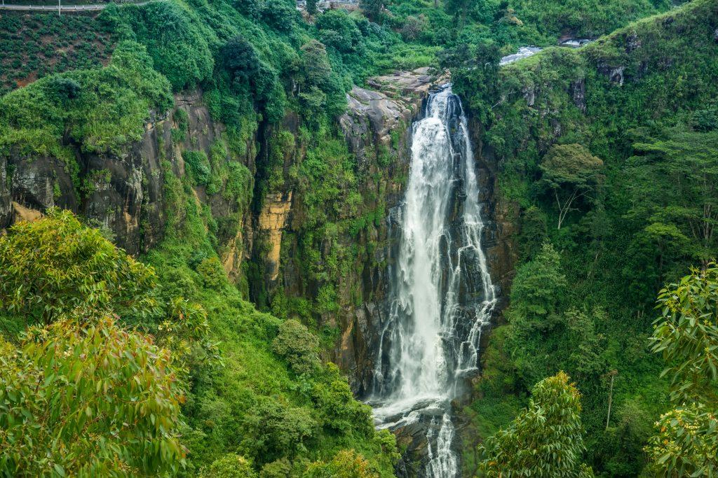 Sri Lanka - 1554 - Devon waterfall in Nuwara-eliya