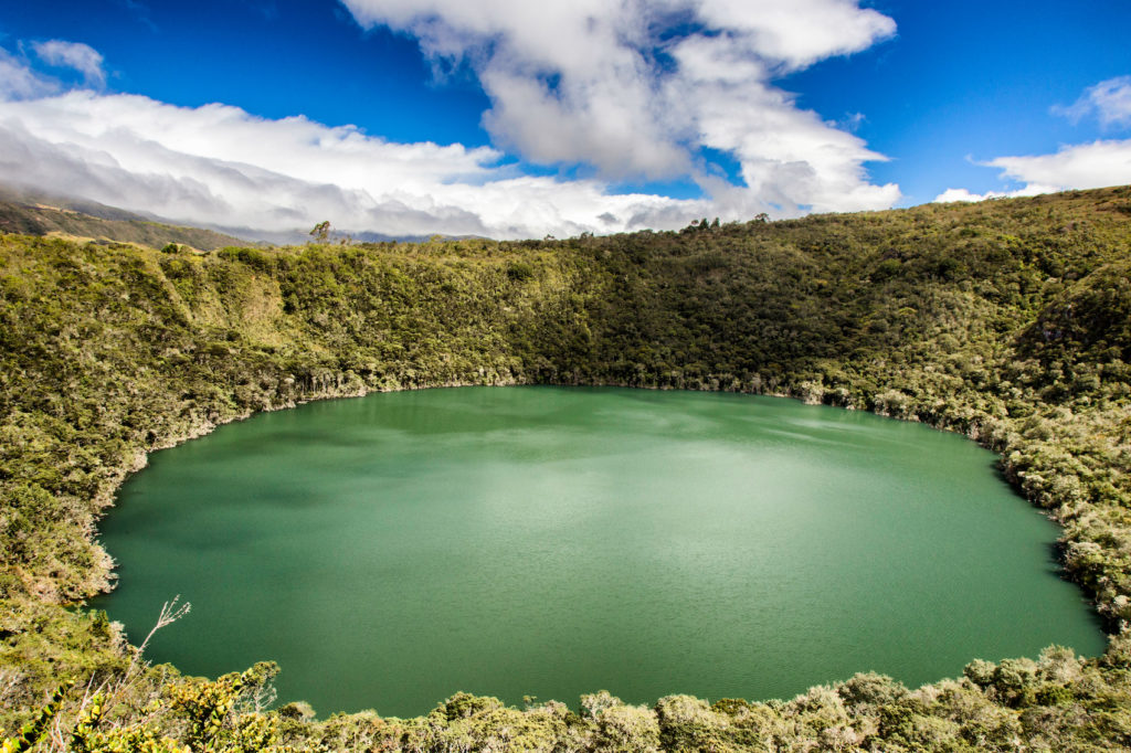 Colombia - 1558 - Guatavita Lagoon Outdoor Nature Landscape
